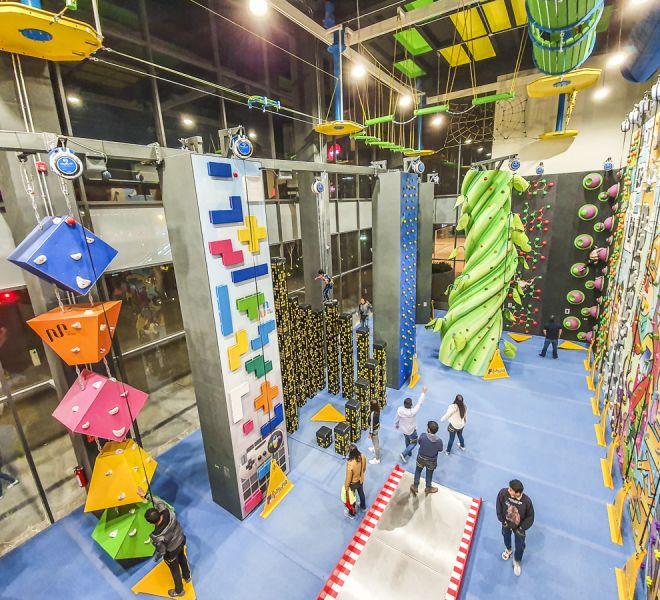 Fun Walls kids climbing walls by Walltopia
