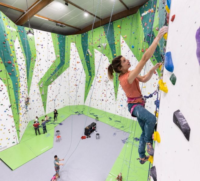 Walltopia climbing walls in Climb Up, France