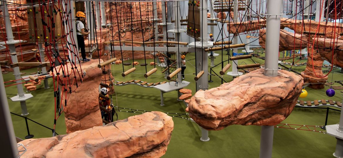Summit Ropes - The biggest ropes course by Walltopia