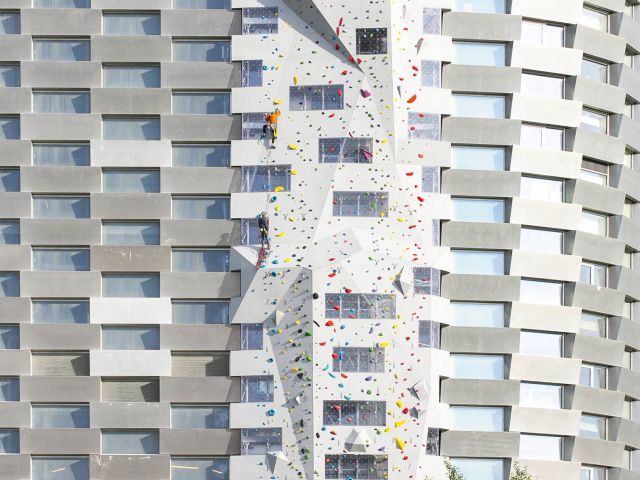 Copen Hill The tallest outdoor Climbing Wall by Walltopia