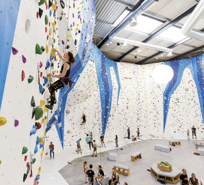 Climb Up Climbing gym climbing wall by Walltopia