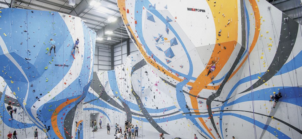Sender One Climbing Wall by Walltopia