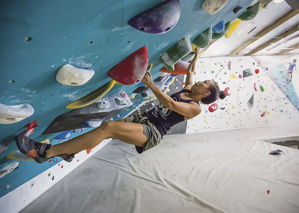 The Arch Project, climbing gym boudering wall by walltopia Hawaii
