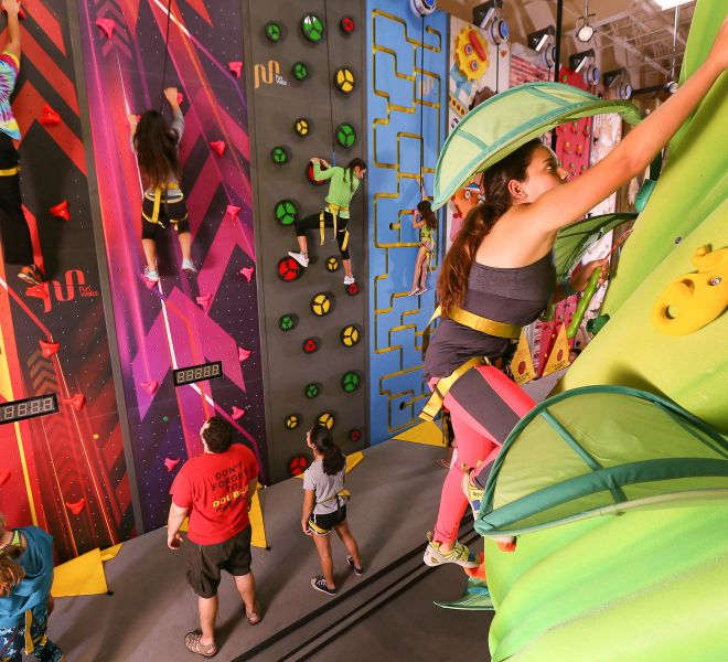 Kids Climbing Walls