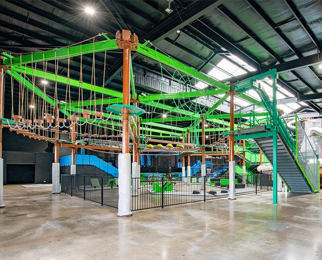 Themed Ropes Course
