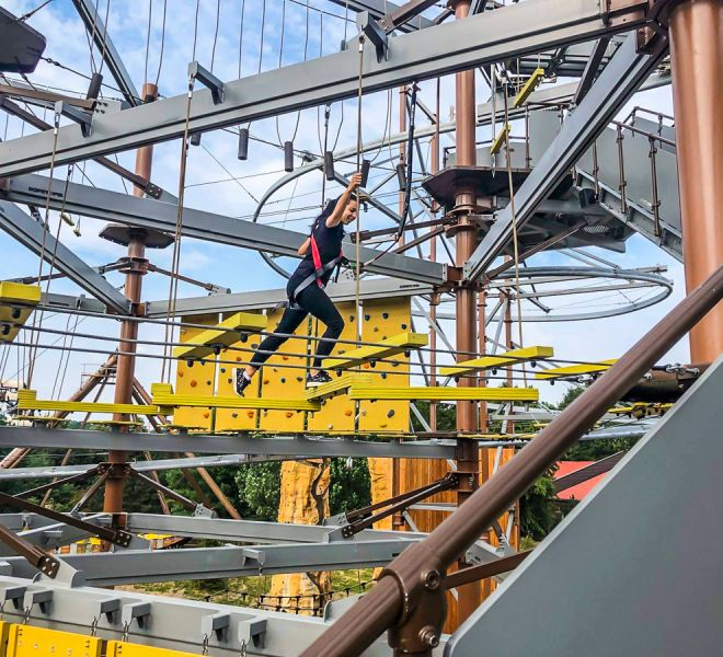 Ropes Course in Slagharen